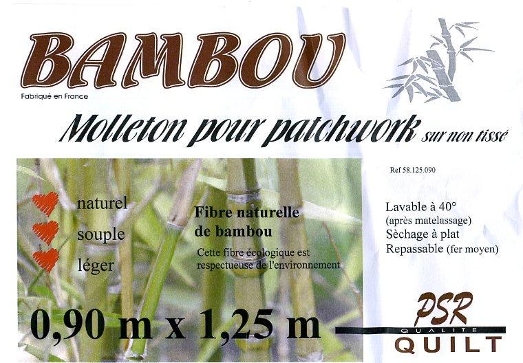 Molleton psr bambou 90x125 cm roland besset l for Fenetre 90x125