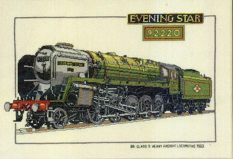EVENING STAR locomotive 1960